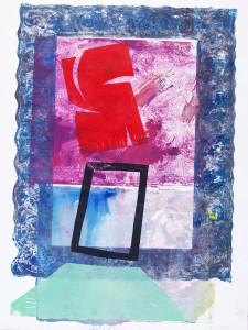 56x76 Gemengde druktechnieken op papier